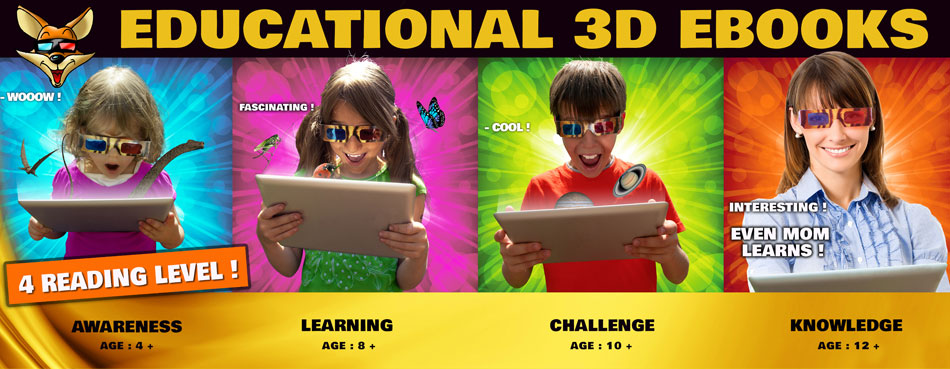 Educational 3D Books